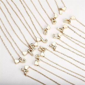 Personal letter necklace